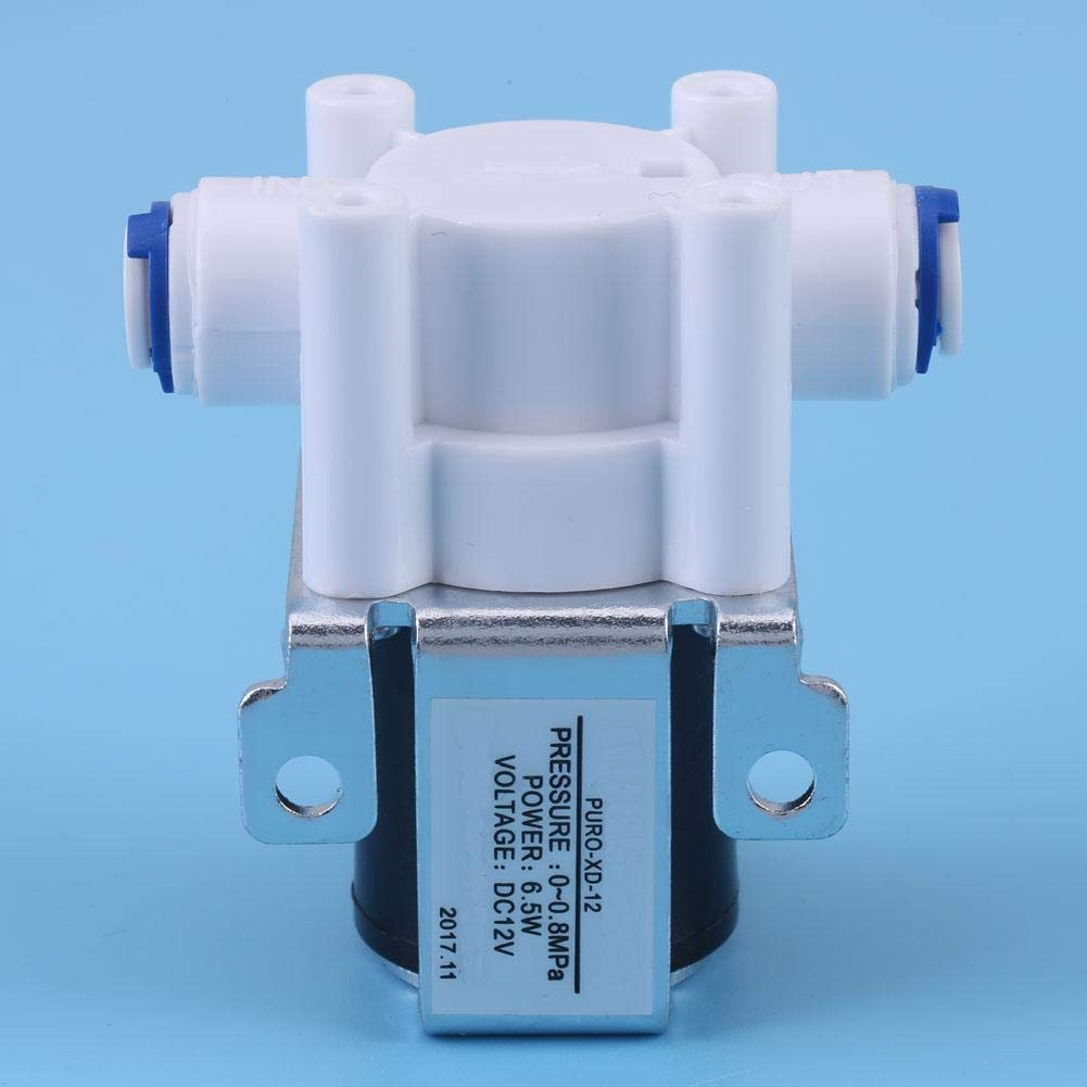 Electric Solenoid Valve Water Valve High Conductivity for Replacing for Water Purifier Solenoid Valve 12V