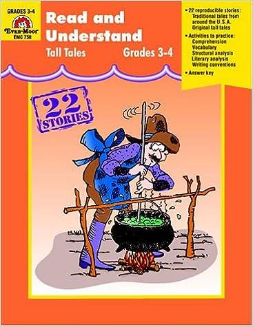 Read and Understand Tall Tales, Grades 3-4: Evan Moor ...