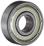 Ten (10) R8ZZ Shielded Bearings 1/2 x 1-1/8 x 5/16 Inch Ball Bearings/Pre-Lubricated