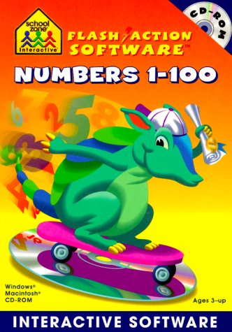 Numbers 1-100 Interactive Software: Windows Macintosh : Ages 3-Up (School Zone Interactive Flash Action ()