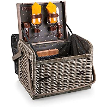 Picnic Time 'Kabrio' Picnic Basket with Wine and Cheese Service for Two, Anthology Collection
