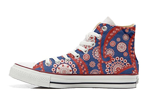 Converse All Star Customized - Zapatos Personalizados (Producto Artesano) Vintage Paysley