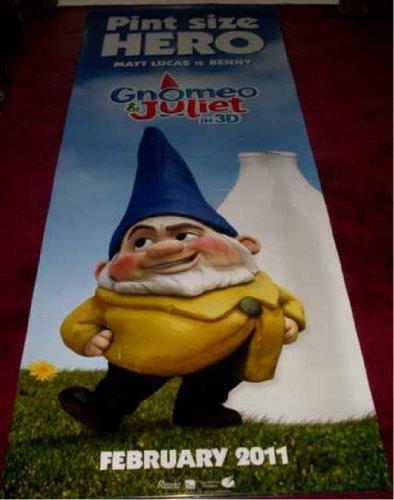 film memorabilia gnomeo and juliet benny cinema banner amazon co