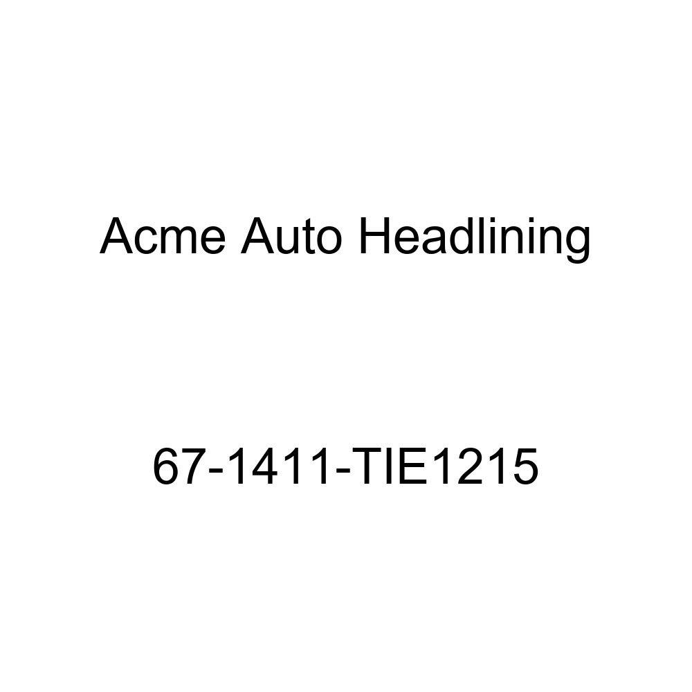 Chevrolet Impala 2 Door Hardtop 5 Bow Acme Auto Headlining 67-1411-TIE1215 Turquoise Replacement Headliner