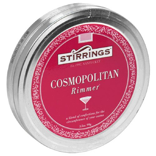 Stirrings Cosmopolitan Drink Rimmer, 3.5-Ounce Tin (Pack of 6)