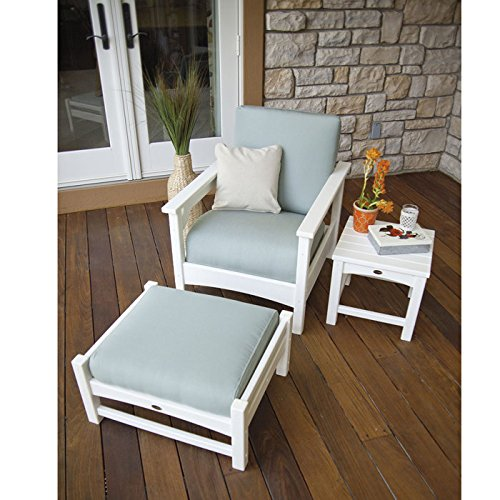 (POLYWOOD Club 3 Piece Deep Seating Set)