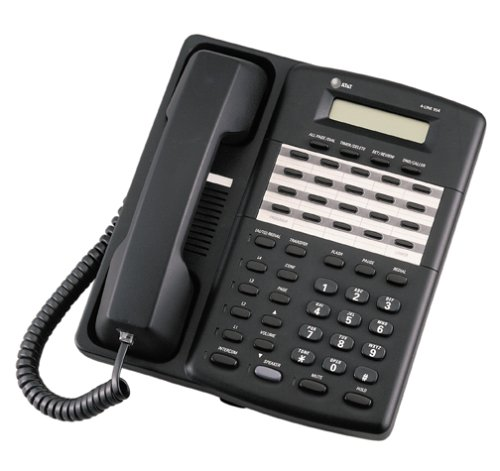AT&T 954 Expandable 4-Line Corded Speakerphone with Intercom (Black)