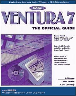 Corel ventura 10 buy now