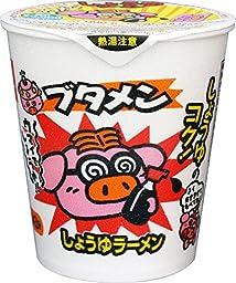 Instant Noodle BUTAMEN Soy sauce flavor 37g x 15 cups
