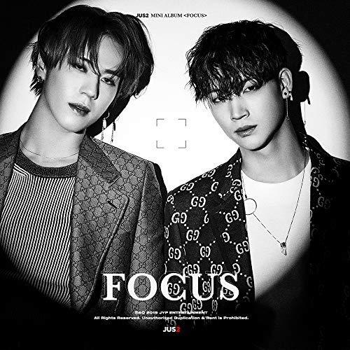 (JYP Entertainment JUS2 GOT7 - Focus [Random ver.] CD+Photobook+On Pack Poster+2Photocard+Pre-Order Benefit+Folded Poster+Extra Photocards)
