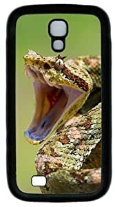 2014 Year Of The Snake Special Edition Desktop Custom Designer Samsung Galaxy S4 Case and Cover - TPU - Black