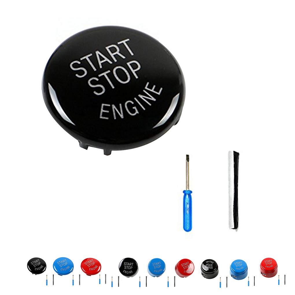Minzhi Abs Car Engine Start Stop Switch Button Replace Cover For Bmw E90 Wiring Diagram E60 E70 E71 E92