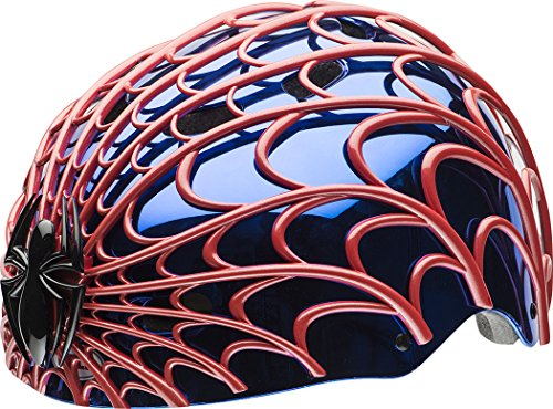 Spider Man Child Helmet (Bell Spider-Man Web Head Child Multi-Sport Helmet)