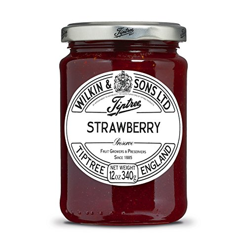 Tiptree Strawberry Preserve, 12 Ounce Jar