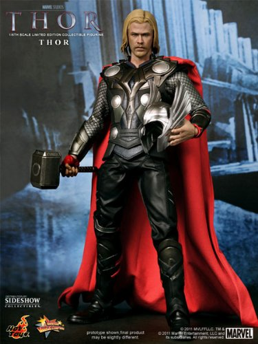 Hot Toys Movie Masterpiece 1/6 Scale Collectible Figure Thor