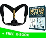 Posture Corrector for Women & Men Premium - Effective and Comfortable Posture Brace for Slouching, Scoliosis & Hunching - Perfect Posture Support for Medical Problems & Injury Rehab - by Charlby