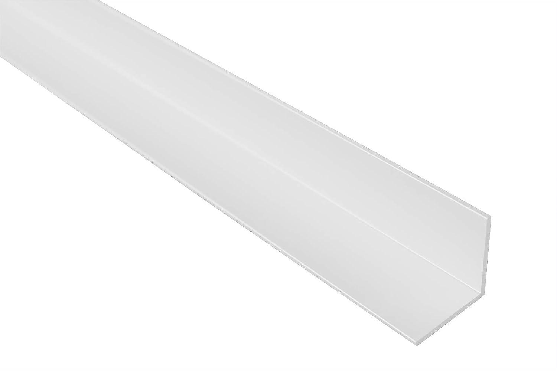 Winkelprofil eloxiert B14 Effector 2 Meter Ecke Alu wei/ß