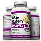 White Mulberry Leaf Extract Weight Loss Supplement - Natural Sugar Blocker, Appetite Suppressant