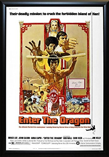 Enter the Dragon - Signed Movie Poster