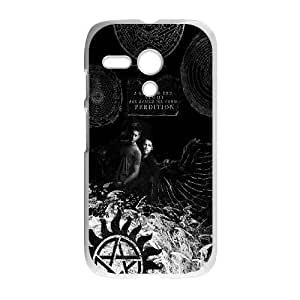Motorola Moto G Phone Case White Supernatural SF8619617
