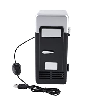 Mini nevera USB - 5 minutos la temperatura del frigorífico ...