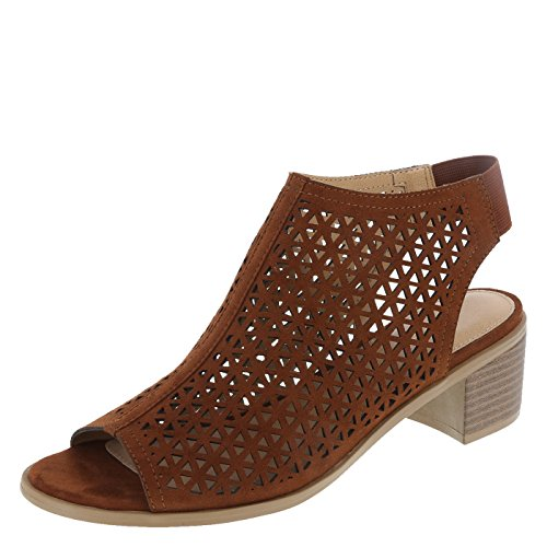 Hooded Side Women's Cognac Vista Lower Block East Heel f8UaH