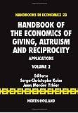 Handbook of the Economics of Giving, Altruism and Reciprocity: Applications