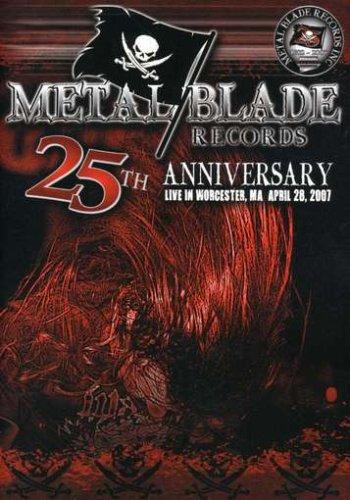 DVD : VARIOUS - Metal Blade 25th Anniversary Live (DVD)