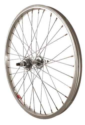 Sta-Tru Silver Steel 1 Speed Freewheel Hub (20X1.5-Inch) (Wheel 20 Bike)