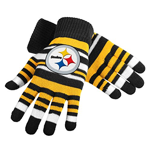 UPC 887849993034, NFL Pittsburgh Steelers Stretch Gloves