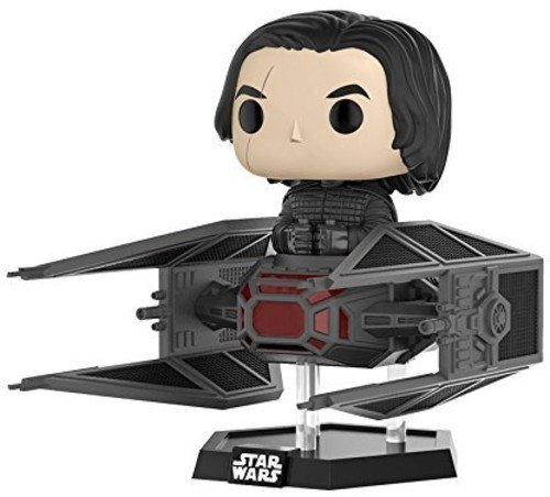 Funko Pop Deluxe  Kylo Ren In Tie Fighter Collectible Vinyl Figure