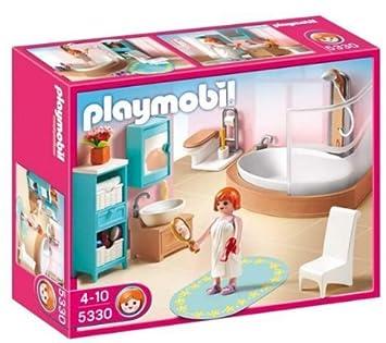 PLAYMOBIL 5330 Puppenhaus Badezimmer: Amazon.de: Spielzeug