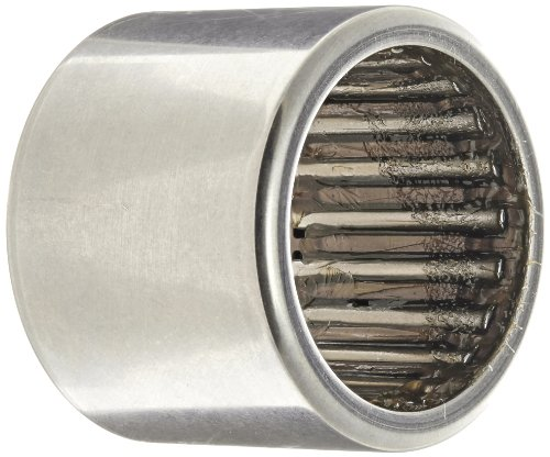 INA HK2526 Needle Roller Bearing, Caged Drawn Cup, Outer Ring and Roller, Steel Cage, Open End, Metric, 25mm ID, 32mm OD, 26mm Width, 10000rpm Maximum Rotational Speed