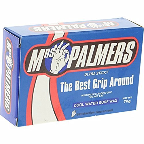 Mrs. Palmers Wax - Cool, pack of 5 each. (Palmers Mrs Wax Surf)