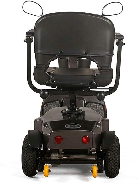 Amazon.com: Patinete eléctrico de 4 ruedas, plegable, ligero ...