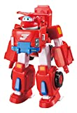 Super Wings - Deluxe Transforming Vehicle | Series 2 | Jett | Plane and Bot Vehicle Set | Includes 2' Figure
