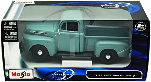 1948 Ford F-1 Pickup Truck Die-cast 1:25 Maisto 8 inches Red 1//24