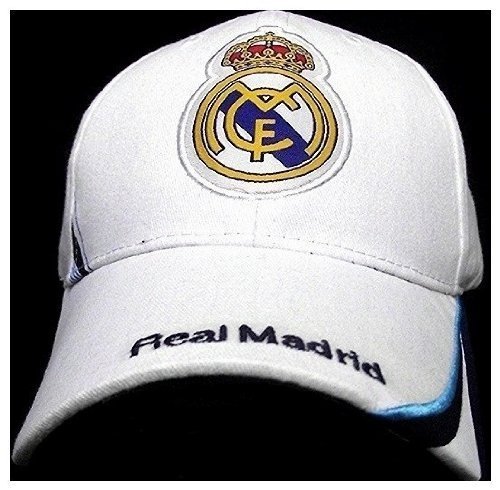 REAL MADRID FOOTBALL CLUB OFFICIAL LOGO SOCCER ADJUSTABLE CAP ()