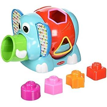 Amazon Com Tolo Toys Rolling Shape Sorter Toys Amp Games