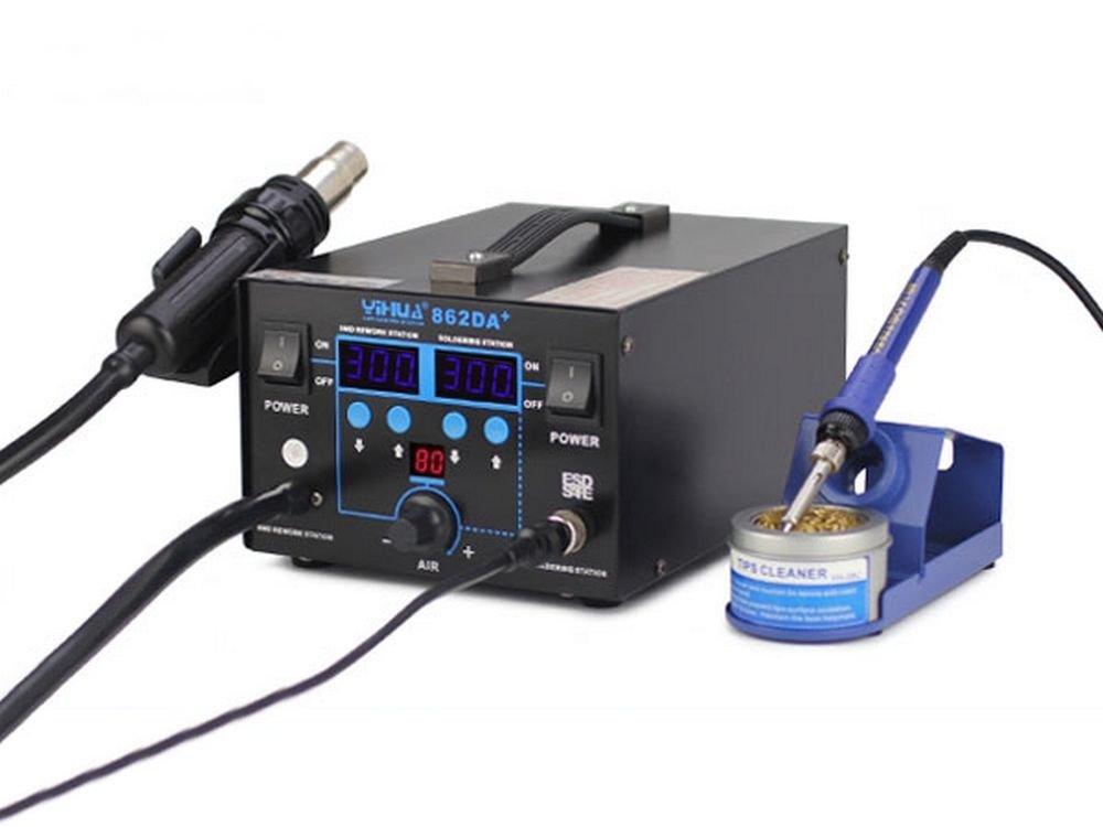 italtronik –  Estació n soldadura desoldar Aire Caliente YIHUA 862 de + 2 in 1