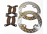2013 2014 Polaris 900 Ranger XP/2014 900 RZR Front Brake Rotors And Brake Pads