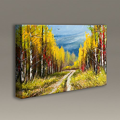 Acoustimac Acoustic Panels with art : 3'x2'x2'' - Path through the Forest by AcousticART
