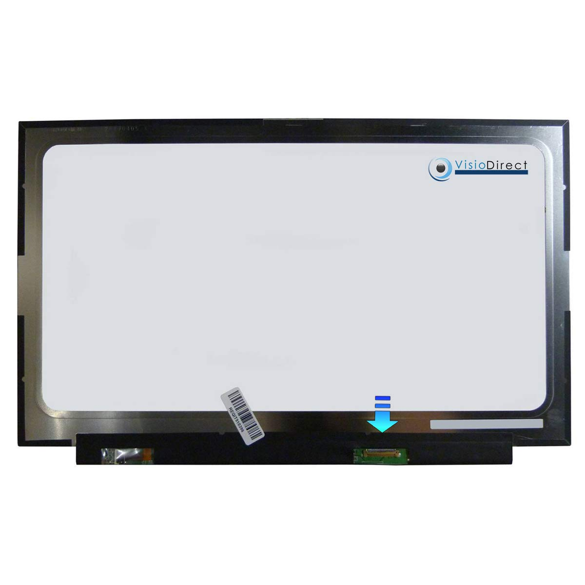 VISIODIRECT Schermo Display 14LED per ASUS E406SA 1920X1080 30pin 315mm