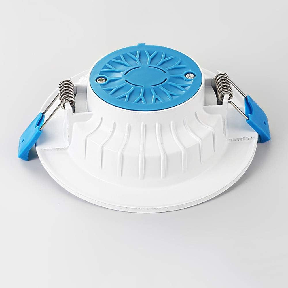 Foco LED Downlight Baño Lámpara de techo Tamaño del orificio ...