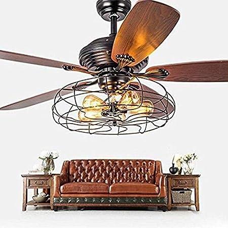 Pendiente lámpara ventilador industrial semi al ras techo luz ...