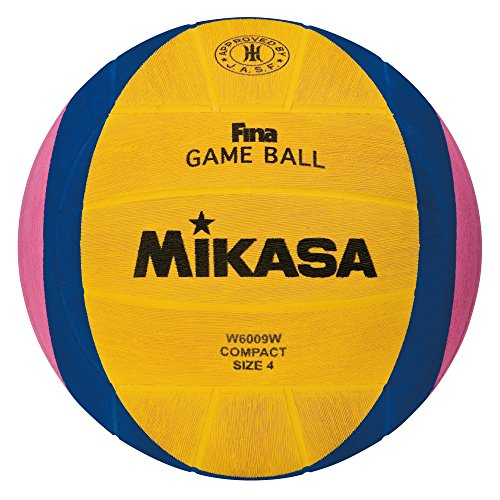 lympic Water Polo Game Ball (Yellow/Blue/Pink, Size 4) (Mikasa Playground Ball)