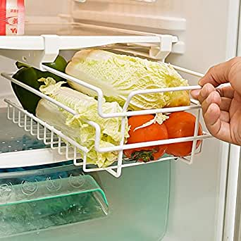 Amazon.com: Mkono Freezer Under Shelf Basket for Compact