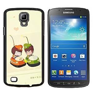 TECHCASE---Cubierta de la caja de protección para la piel dura ** Samsung Galaxy S4 Active i9295 ** --murena Ryba pasado Vzglyad makro