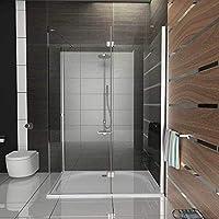Alpenberger - Cabina de ducha de esquina antical, 90 x 120 x 195 ...