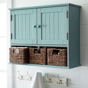 Holtom 3-Drawer Wall Storage - Antique Sky Blue | Pier 1 Imports